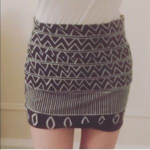 Urban Outfitters BDG Graphic Tribal Miniskirt
