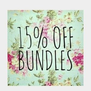 Tops - 15% off bundles