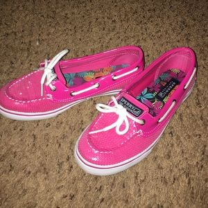 Sperry Top-Sider Shoes - Pink Sequin Sperry Top-Sider