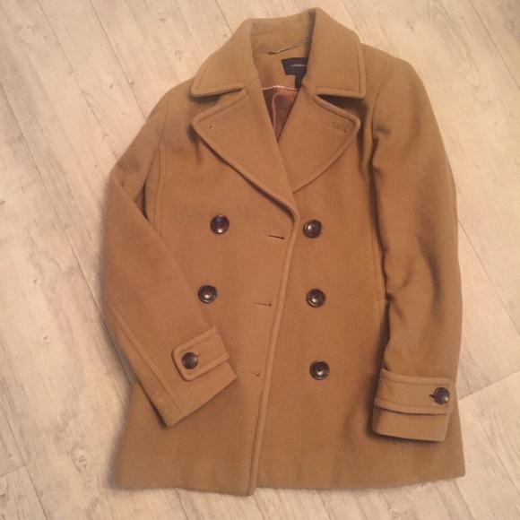 Lands' End - Land's End camel colored pea coat from Ann's closet ...