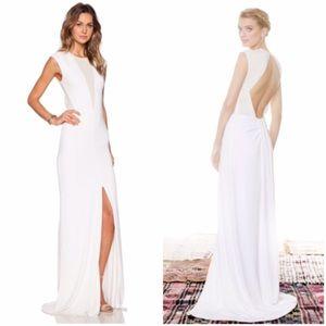 Rachel Zoe runway evening gown