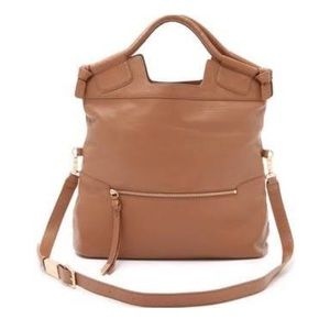 Foley and Corinna Mid City Bag in Cognac