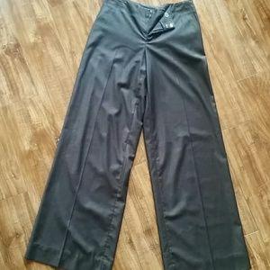 Wide leg trousers