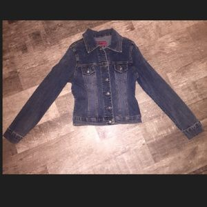 Solid Jackets & Blazers - Jean Jacket Size Small