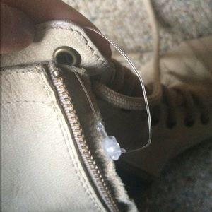 Steve Madden Shoes - Steve Madden White Leather Boots