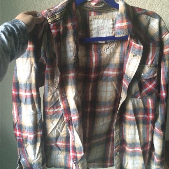 Ditch Plans  Tops - Plaid flannel