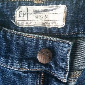 Free People Jeans - Free People Patched Jeans