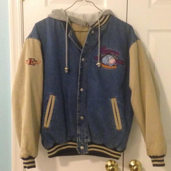 disney leather man style eeyore jacket from theresas