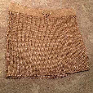 Ralph Lauren gold skirt