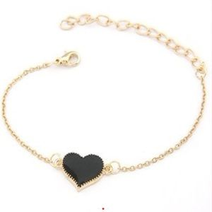 Cute heart love bracelet