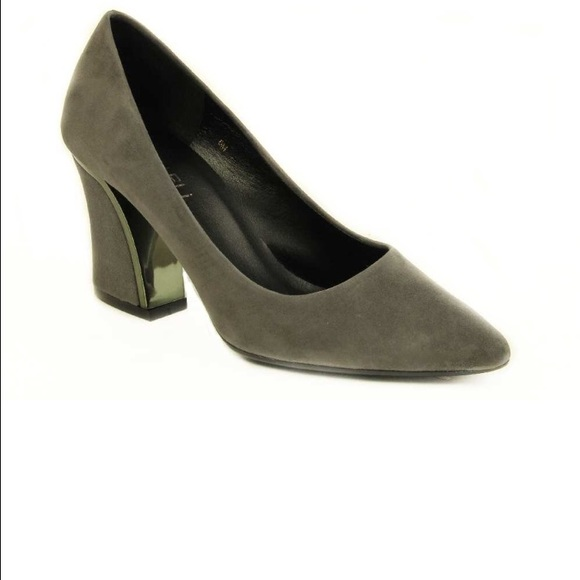 Vaneli Shoes - Marmi Shoes Gray Heels!