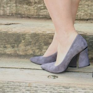 Marmi Shoes Gray Heels!