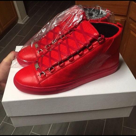 Balenciaga Shoes   Arena Hitops   Poshmark