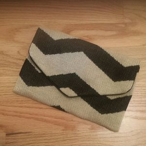 Hansel from Basel Handbags - Zig Zag Envelope Clutch