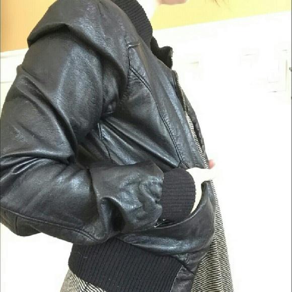 divided bomber jacket