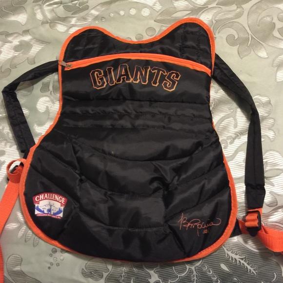 San Francisco Giants catchers Backpack e0a4ebc54119