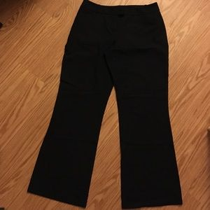 Black work trousers