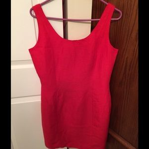 New York Studio Dresses & Skirts - New York Studio Red Sleeveless Dress