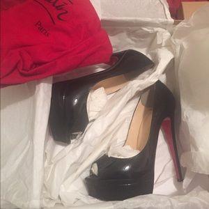 Christian Louboutin size 36.5 lady peep shoes