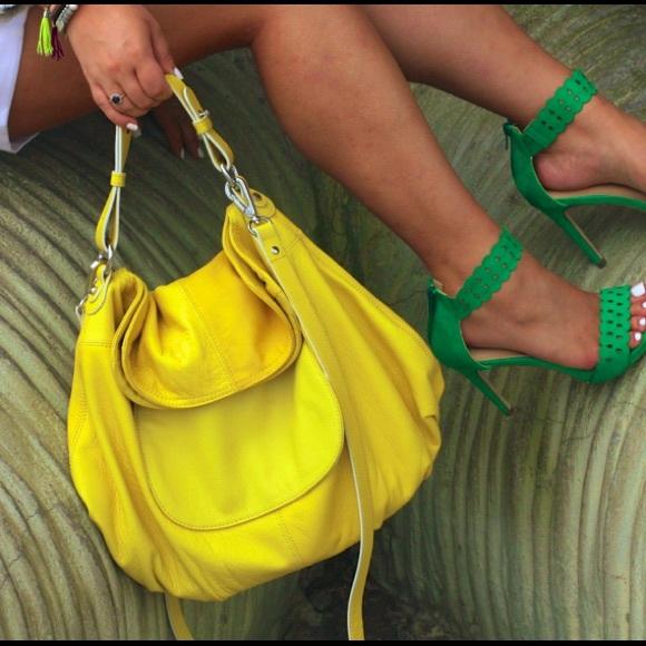 Hayden Harnett Handbags - Yellow Hayden Harnett Hobo!