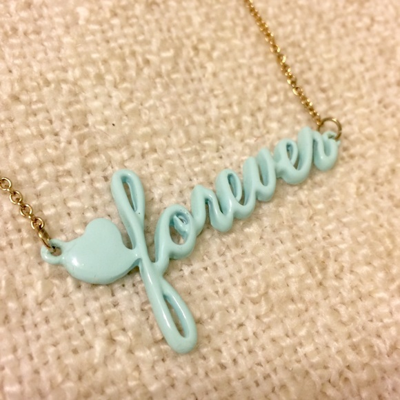 Jewelry - Mint Gold 💙 Forever Necklace