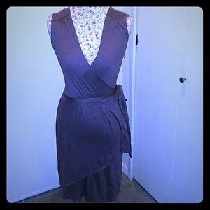 Ann Taylor Loft XS Wrap Knee length dress