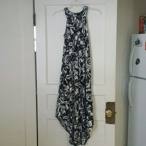 Mossimo Supply Co. Dresses & Skirts - Black and white floral sleeveless maxi dress