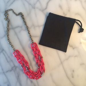 J.Crew link and chain necklace