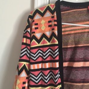 H&M Sweaters - Fun print cardigan HM size small NWOT 🎀HOLD🎀