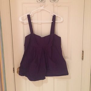 Marc by Marc Jacobs Purple Summer Top