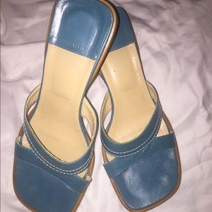 Banana Republic, open toe sandals, gently worn