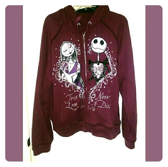 b6b64ee62d6 Disney Jackets   Blazers - Nightmare Before Christmas Hoodie
