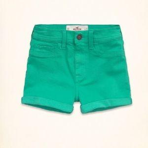 Hollister Pants - Hollister High Waisted Shorts