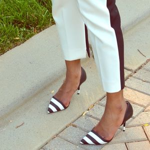 Zara Striped Shoes