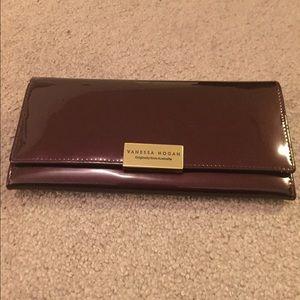 a2fb238891 Vanessa Hogan Bags - Vanessa Hogan Purple Enamel Wallet FROM Australia