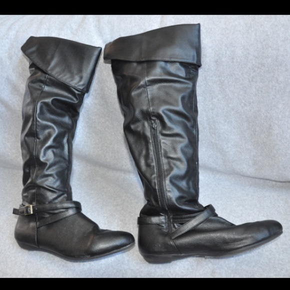 44 target shoes black knee high boots from kirsten