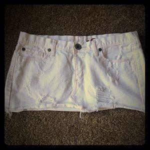 Dresses & Skirts - White Hollister & Co mini skirt