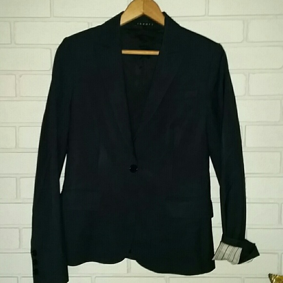 Theory Jackets & Coats - Theory one button blazer size 4