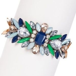 Meghan Fabulous Jewelry - ⚡️NWB⚡️Fallen Leaves Cuff in Aqua
