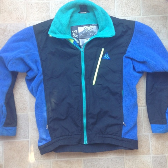 70% off Nike Other - RARE Nike ACG - Vintage Snow Fleece Jacket ...