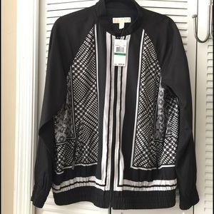 Michael Kors Jackets & Blazers - 🆕 Michael Kors Snakeskin Bomber Jacket $220 sz L