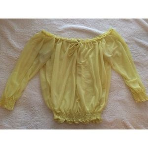 H&M Tops - Off the shoulder blouse