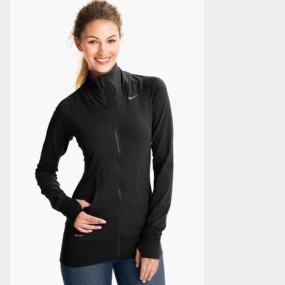 6542ca34dc96 Nike full zip dri fit jacket. M 56a53c7bfbf6f9fd48009120