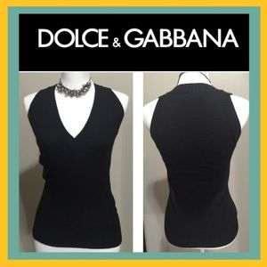 Authentic Dolce & Gabbana black vest