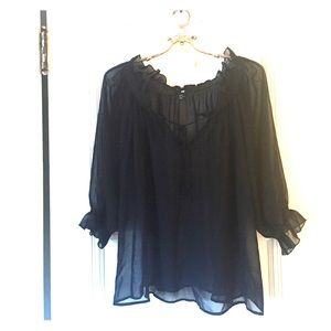 H&M - Black blouse
