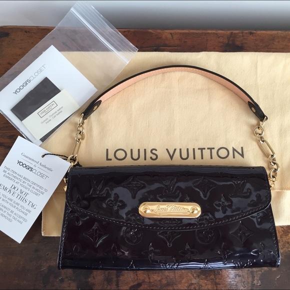 2e33143c71e Authentic Louis Vuitton Amarante Sunset Blvd Bag