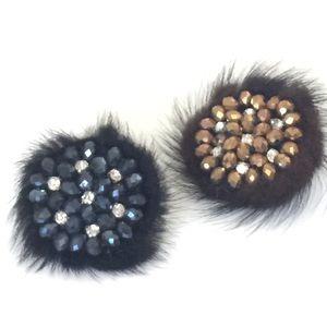 Jewelry - Furry Rings - Black or Brown