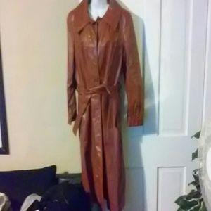 mahagoney leather