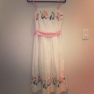 63 Off Anthropologie Dresses Amp Skirts Beautiful Coral