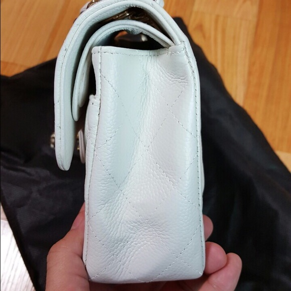 CHANEL Bags   Sold Small Double Flap White Caviar   Poshmark 3ebabfd533
